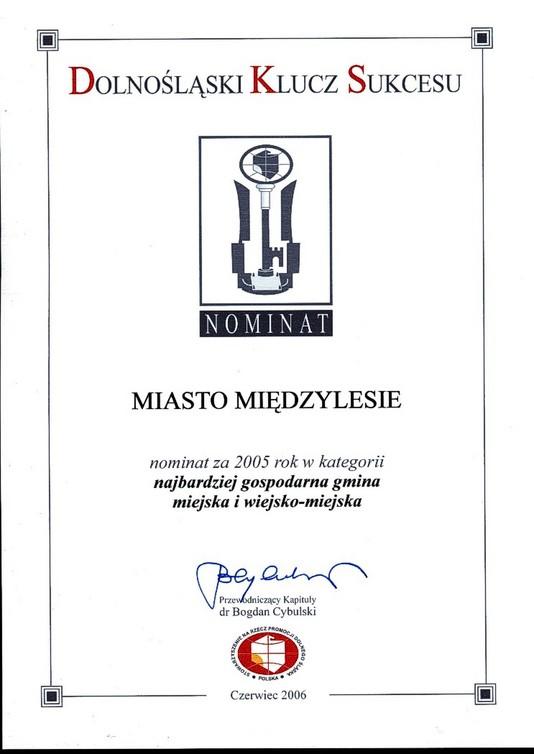 2006.06.10-Wrocław-Nominacja do Dolnośląski Klucz Sukcesu.jpeg