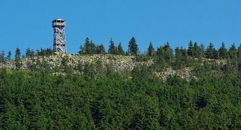 wieża na Trójmorskim Wierchu