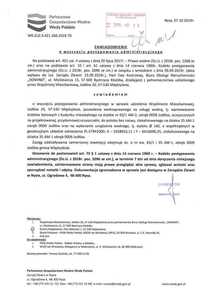 Wody Polskie - obwieszczenie dot. Jodłów 20-1.jpeg
