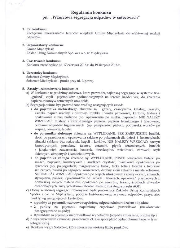Regulamin - konkurs śmieciowy str. 1.jpeg